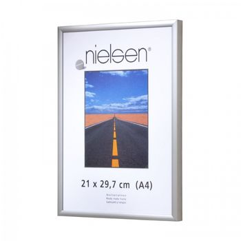 NIELSEN Pearl Perspex 21x29 cm A4 Matt Silver Picture Frame