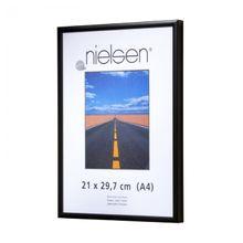 NIELSEN Pearl Perspex 50x70 cm Matt Black Picture Frame 001