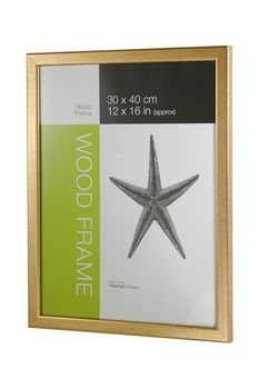 NIELSEN Starfish Naturals 10x12inch Gold Picture Frame – image 1