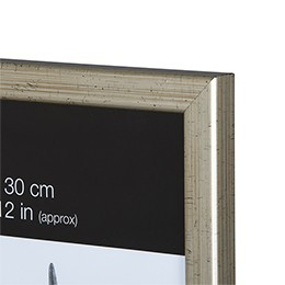 NIELSEN Starfish Naturals 4x6inch Silver Picture Frame – image 2