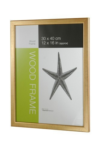 NIELSEN Starfish Naturals A4 Gold Picture Frame