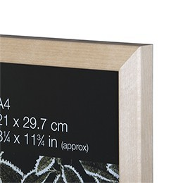 NIELSEN Starfish Naturals Plexi Glass A1 Solid Birch Picture Frame – image 2