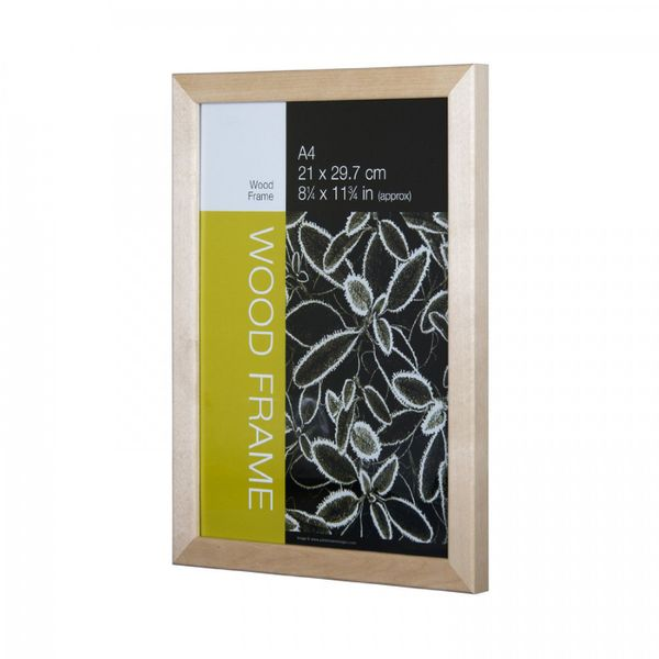 NIELSEN Starfish Naturals Plexi Glass A4 Solid Birch Picture Frame