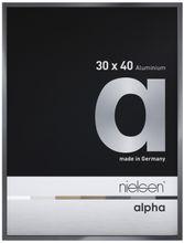 Nielsen Alpha Dark Grey Polished 40X50 cm Aluminium Frame  001