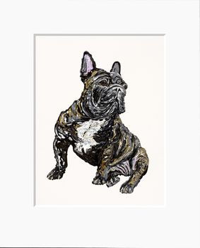 French Bull Dog  - Limited Edition Print by Becky Mair – image 1