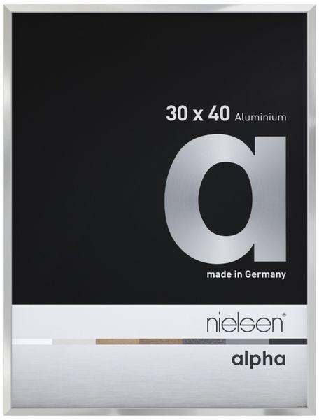 Nielsen Alpha Picture Frame Polished Silver A4 – image 1