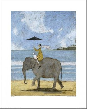L - ON THE EDGE OF THE SAND - 40 X 50CM - SAM TOFT