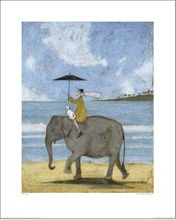 L - ON THE EDGE OF THE SAND - 40 X 50CM - SAM TOFT 001