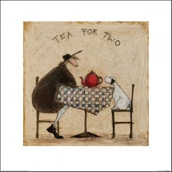 L - TEA FOR TWO - 40 X 40CM - SAM TOFT
