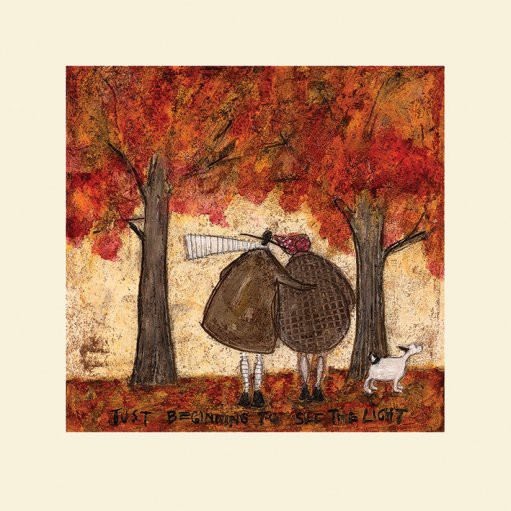 SAM TOFT (JUST BEGINNING TO SEE THE LIGHT)  40x40cm