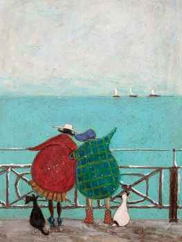 SAM TOFT (WE SAW THREE SHIPS COME SAILING BY) 30X40 Canvas
