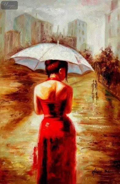 Modern Art - Walking On Sunshine 60x90 cm Oil Painting