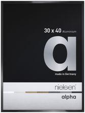 Nielsen Alpha Picture Frame Black Polished 60x80 cm  001