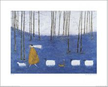 L - TIPTOE THROUGH THE BLUEBELLS - 40 X 50CM - SAM TOFT  001