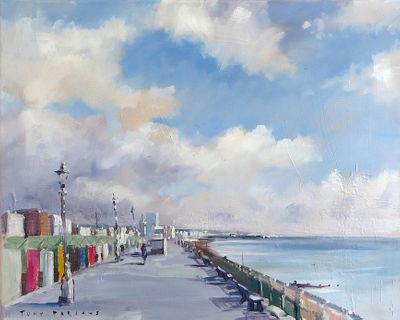 """Hove Seafront  by Tony Parsons Limited Edition Print"