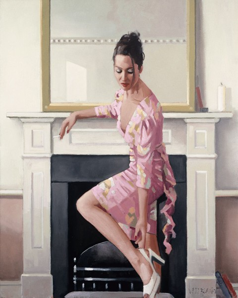 Jack Vettriano - Model in Westwood -  Signed Limited Edition Print  – image 2