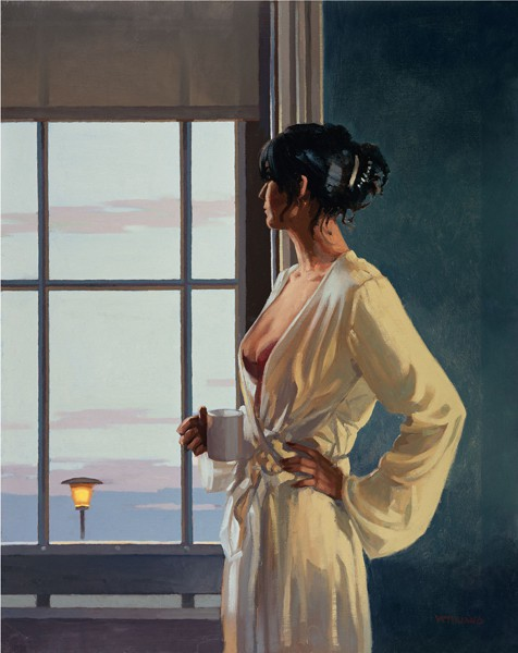 Jack Vettriano - Baby, Bye, Bye - Limited Edition Print - Signed