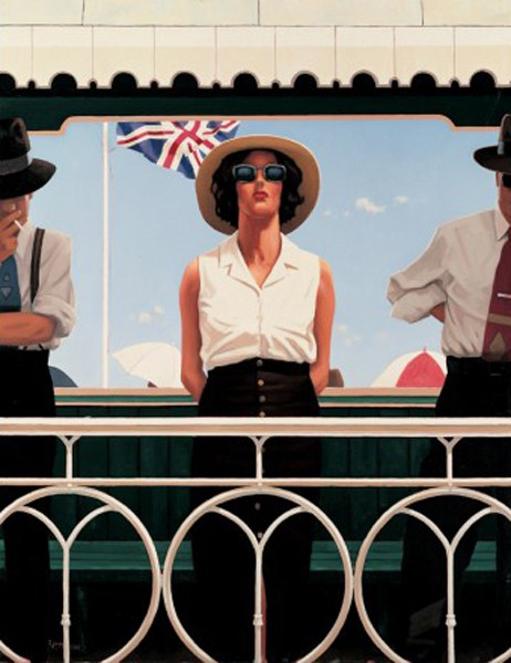 Jack Vettriano - Bird On The Wire - Limited Edition Print - Signed 97x79cm
