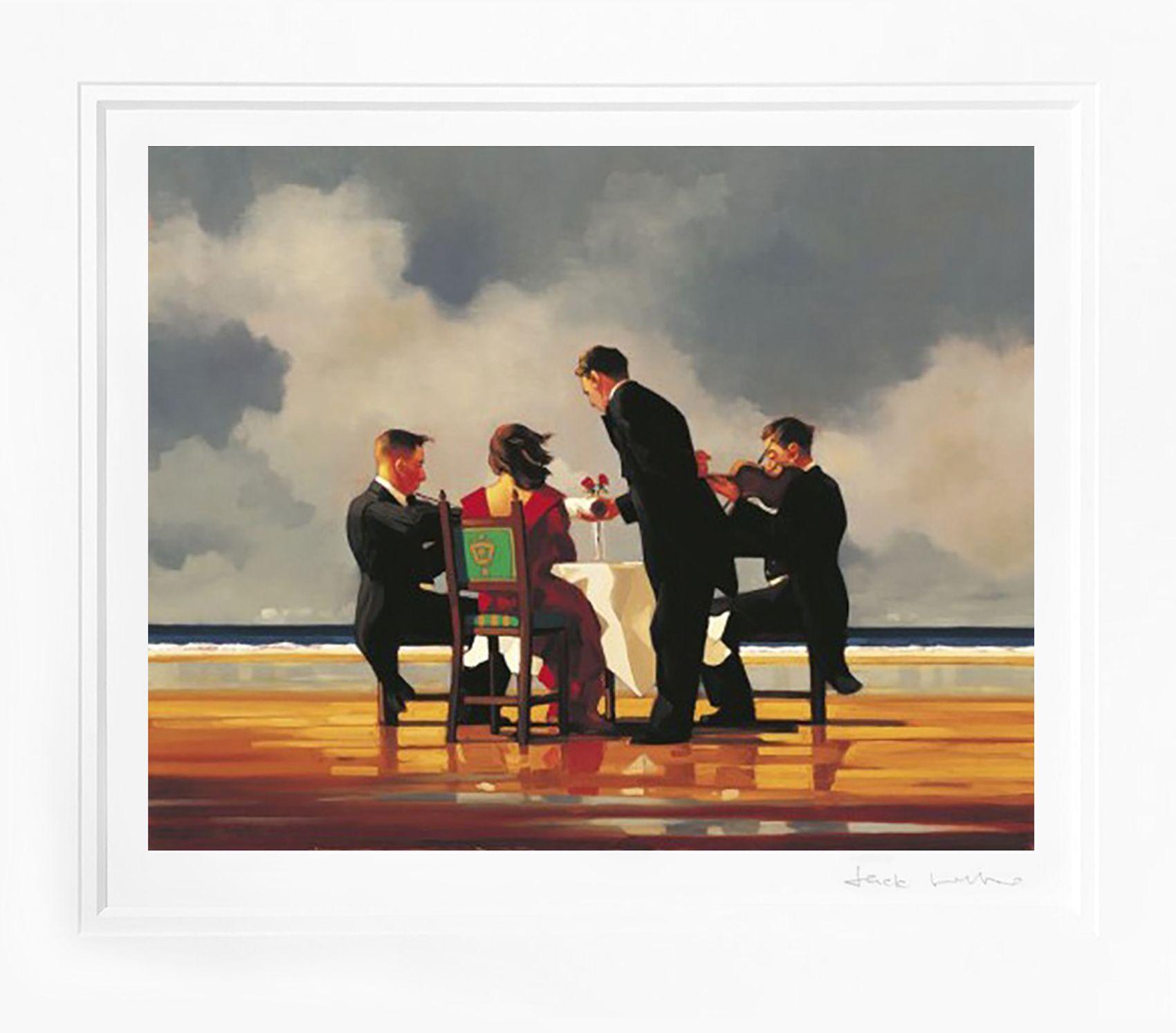 "Jack Vettriano /""The Singing Butler/"" 40x50 cm Art Print"