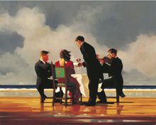 Jack Vettriano - Elegy for a Dead Admiral - Limited Edition Print - Signed 75,5x64cm 001