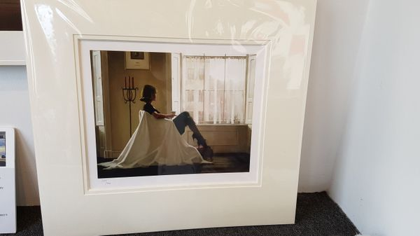 Jack Vettriano - In Thoughts of You - Limited Edition Print - Signed 40x34cm – image 2