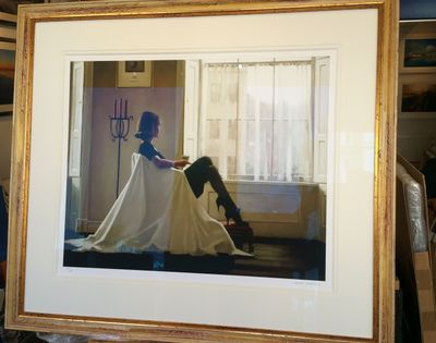 Jack Vettriano - In Thoughts of You - Limited Edition Print - Signed 76x65cm – image 3