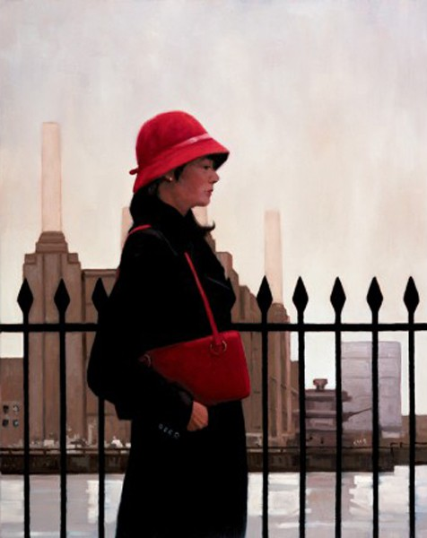 Jack Vettriano - Just Another Day - Kunstdruck Limitierte Edition  - Hand Signiert 92x73,5cm