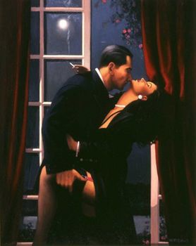 Jack Vettriano - Night Geometry - Limited Edition Print - Signed 72x58cm