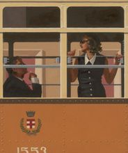 Jack Vettriano - The Look of Love - Limited Edition Print - Signed 64x54,5cm 001