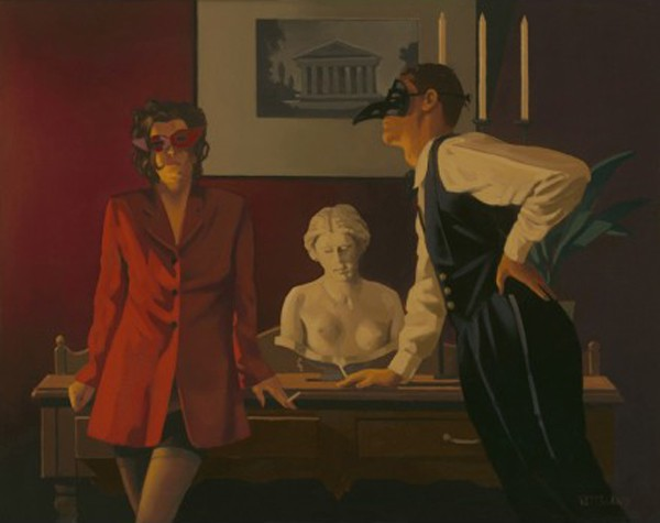 Jack Vettriano - The Sparrow and the Hawk - Limited Edition Print - Signed