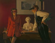 Jack Vettriano - The Sparrow and the Hawk - Limited Edition Print - Signed 52,7x63,5cm 001