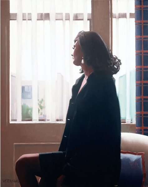 Jack Vettriano - The Very Thought of You - Kunstdruck Limitierte Edition  - Hand Signiert 62,1x52,1cm