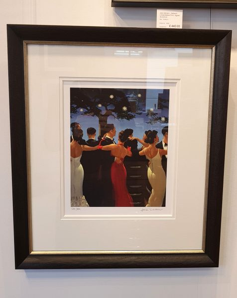 Jack Vettriano - Waltzers - Limited Edition Print - Signed 34,3x41cm – image 2