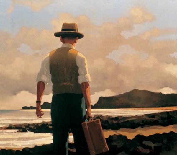 Jack Vettriano - The Drifter - Art Print - 46x50cm