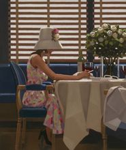Jack Vettriano - Days of Wine and Roses - Art Print - 50x70cm 001