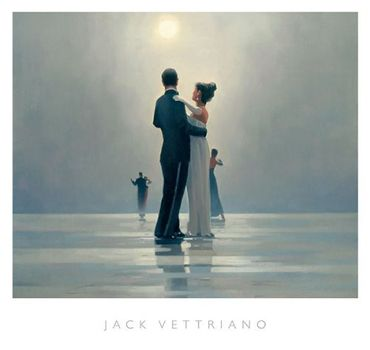 Jack Vettriano - Dance Me to the End of Love - Art Print - 68x72cm