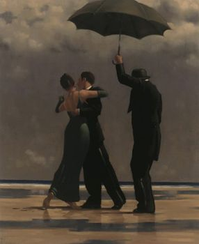 Jack Vettriano - Dancer in Emerald - Art Print - 80x60cm