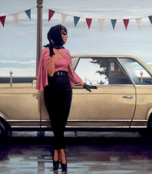 Jack Vettriano - Suddenly One Summer - Art Print - 80x60cm