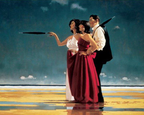 Jack Vettriano - The Missing Man I - Art Print - 80x60cm