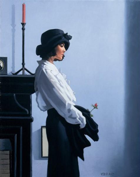 Jack Vettriano - Valentine Rose - Art Print - 80x60cm