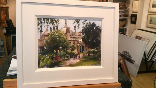 Pavillion gardens by Tony Parsons