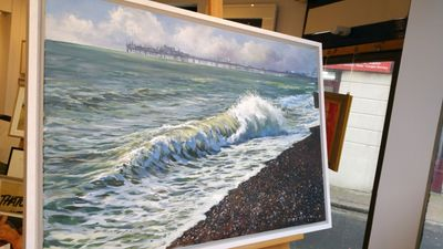 Local Wave & Pier by Tony Parsons – image 2