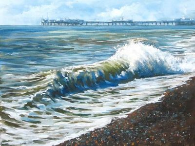 Local Wave & Pier by Tony Parsons – image 1