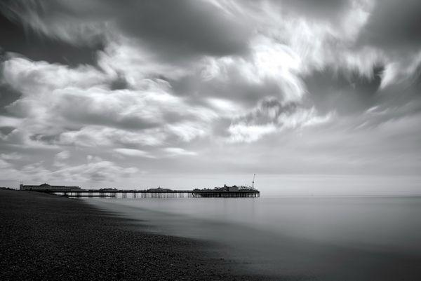 BrightonPierB&WCity645 - Fineart Photography by David Freeman