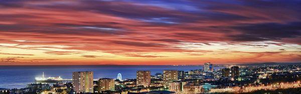 CitySolsticeCity600 - Fineart Photography by David Freeman