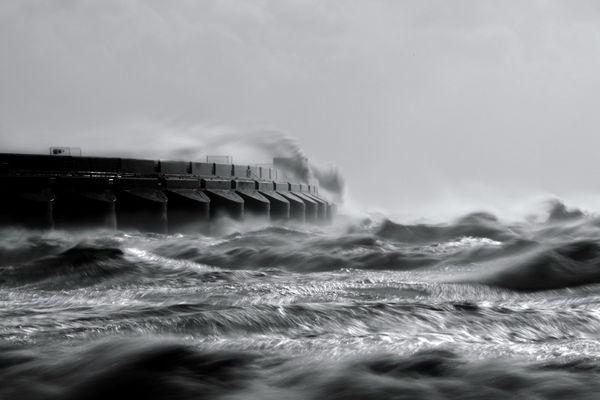 OctoberStormSea479 - Fineart Photography by David Freeman