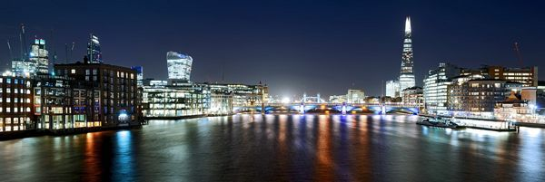 ThamesbyNightCity628 - Fineart Photography by David Freeman