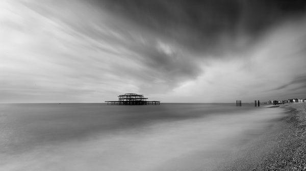 WEstPierSEa635b - Fineart Photography by David Freeman