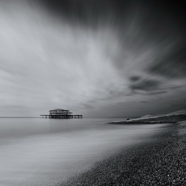 WestPierB&WSquareSea633 - Fineart Photography by David Freeman