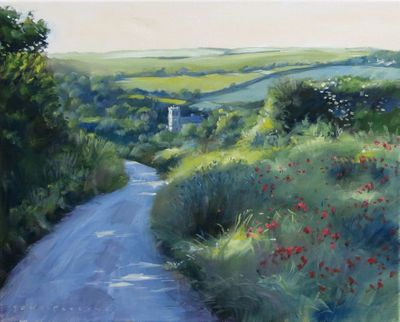 """ Path to Falmer "" by Tony Parsons Limited Edition Print"